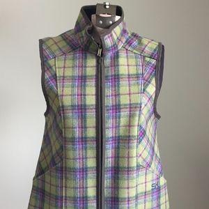 NWOT Stormy Kromer Women's Plaid Wool Vest - Small